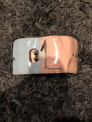 97bdf204eeb Womens Ted Baker Patent Matinee Pink And Blue Wallet