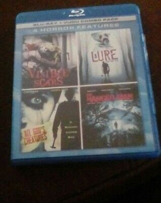 4 Horror Features Blu Ray Combo Visible Scars LaUre Teen Fight Club + more