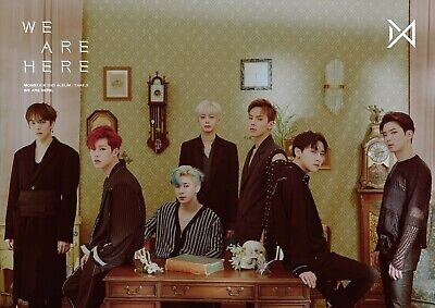 MONSTA X - Take.2 We Are Here( I .II . III . IV )   [OFFICIAL] POSTER K-POP