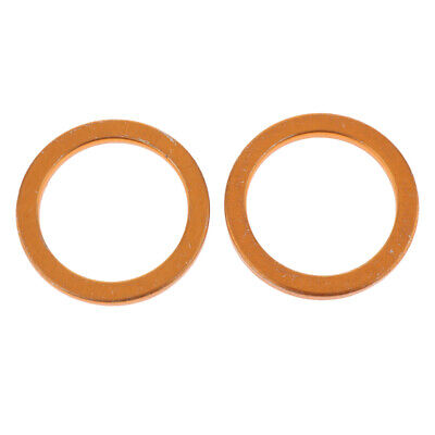 2 Pieces Exhaust Pipe Gaskets for HONDA