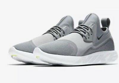 bd5230ed86 Mens Nike Lunarcharge Running Shoes 923619-002 Cool Grey Black New Size 10.5