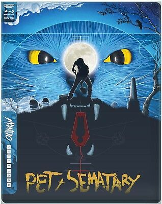 Pet Sematary (Bluray 4K) Uk Limited Edition Mondo Steelbook PRE ORDER