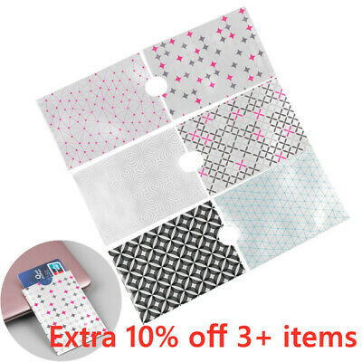 10x Credit Card Case Cover RFID Protector Shielded Holder Secure Blocking Sleeve