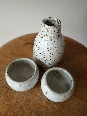 Original Handmade Ceramic Saki Set
