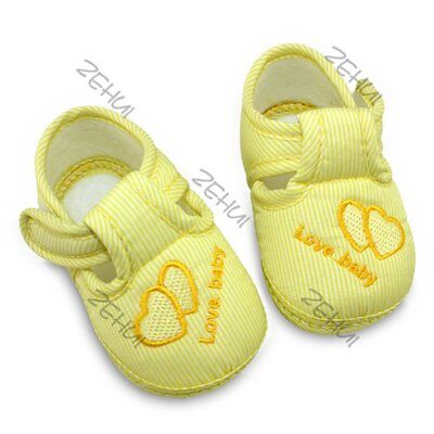 Kid Baby Girl Toddler Crib Shoes Infant Kid Soft Soled Non-slip Sneaker size 13