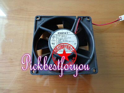 1pc ebmpapst TYP 3414H cooling fan DC24V 20.5W 0.85A 120×120×38mm 3pin #M4481 QL