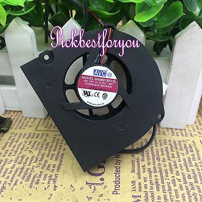 1pcs AVC BA06015R12L fan 12V 0.24A 3pin 60*60*15mm #M4456 QL