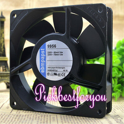 PAPST TYP9956 230V 8/9W 12025 High temperature resistant cooling fan #MS31 QL
