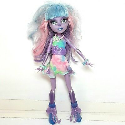 Monster High doll toy River Styxx Purple