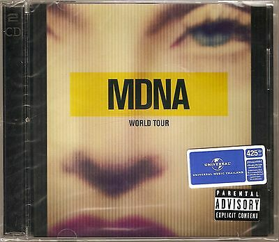 Madonna - MDNA World Tour 2CD THAILAND Edition / New (Sealed)