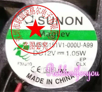1pcs SUNON MB50151V1-000U-A99 DC12V 1.05W 2 axial flow cooling fan #MS75 QL