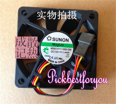 1pcs SUNON MB60101V1-0000-G99 DC12V 1.44W cooling fan #MT43 QL