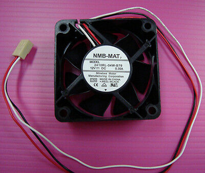 NMB 2410RL-04W-B79 fan 60*60*25mm 12V 0.35A 3pin #M2996 QL