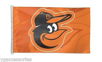 MLB Baltimore Orioles 3' X 5' Flag / Banner - Indoor / Outdoor & Vibrant Colors