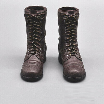 """DML 1/6 Scale WW II US Army M42 Boots Model for 12"""" Action Figure"""
