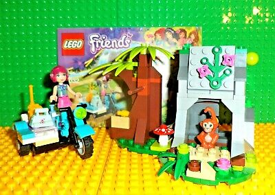 Lego 41032 First Aid Jungle Bike Lego Friends Complete Instructions