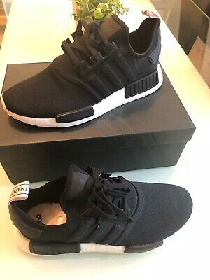 3c7fa21b6 ADIDAS NMD R1 Black Orchid Tint Men s 10   Women s 11 SOLD OUT BNWT ...