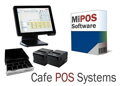 Budget Cafe POS System suitable for Cafes and Takeaway Shops