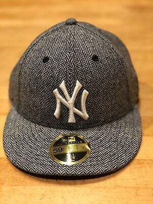 NEW NWT TODD SNYDER + NEW ERA MENS LOW PROFILE NY YANKEES HAT Herringbone 7  1 dab41404da9c