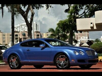 2006 Continental GT 8K Miles BLUE ONLY 8K MILES SPECIAL ORDER BIRDS EYE MAPLE WOOD CHROMED WHEELS