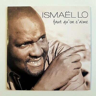 ISMAEL LO : FAUT QU'ON S'AIME ♦ CD Single Promo ♦