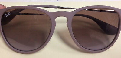 23e5ad5426 Ray Ban RB 4171 Erika 600068 Rubber Sand Sunglasses Rose Gradient Lens