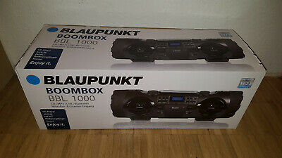 Blaupunkt Boombox BBL 1000 Ghettoblaster CD MP3 USB Bluetooth Aux NEU NP: 249€