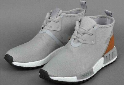 big sale 2a4e8 2912e Mens Adidas NMD C1 TR Chukka S81835 Originals Boost DS Grey Brown - Size 13