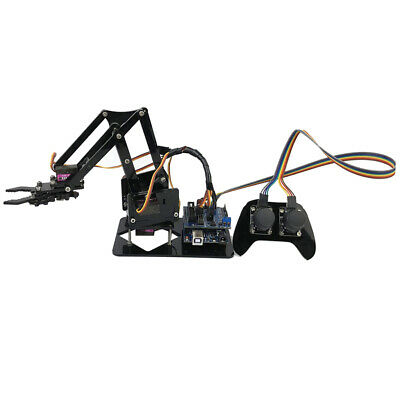 DIY 4-Dof Robot PS2 Handle Mechanical Arm for Arduino Learning Kits