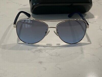 db7ae0d7bdd Coach Polarized Women s Silver-Tone Aviator Sunglasses - 931917 (Silver)