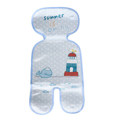 Seat Summer Supply Baby Stroller Kids Infant Pad Ice Mat Cool Liners Cushion D