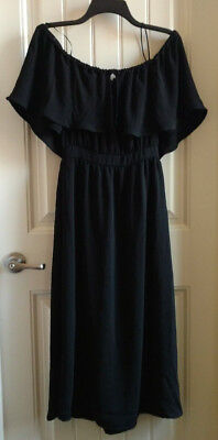 5858d9a42bf5 NWOT Women's dRA Los Angeles Long Black Dress Size Small Anthropologie
