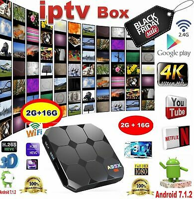 ARABIC-High Definition IPTV HD Android TV box WiFi Receiver- 1 year Warrranty-US