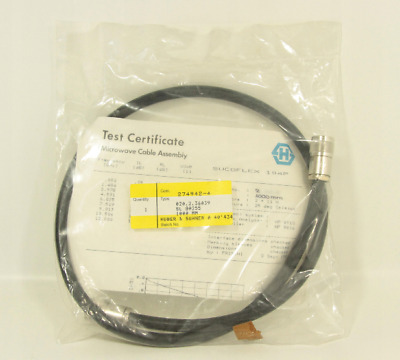 Huber Suhner MICROWAVE MEASURING CABLE 2xN / E 0357