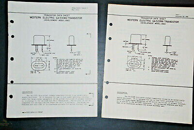 POINT CONTACT GERMANIUM 1N43 BELL SYSTEM//TEL NEW WESTERN ELECTRIC 400A DIODE