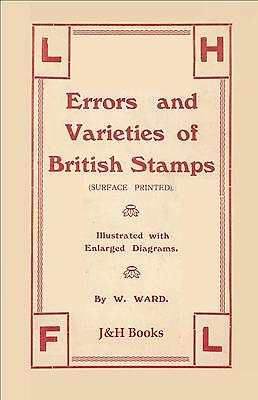 ERRORS & VARIETIES OF BRITISH STAMPS 1855-1925 Surface Printed Illustrated - CD