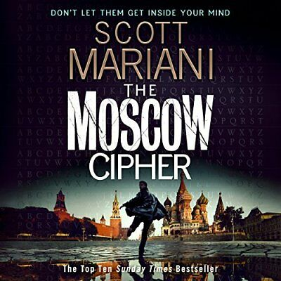 The Moscow Cipher By Scott Mariani - Audiobook