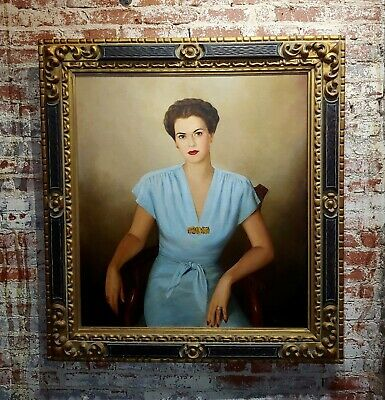 Dmitri Vail -Portrait of Molly Danielson-Oil painting on canvas