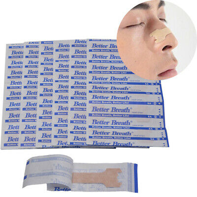 30 x Anti Snoring Nasal Strips Breathe Right Easier Stop Snore Sleep Nose Straps