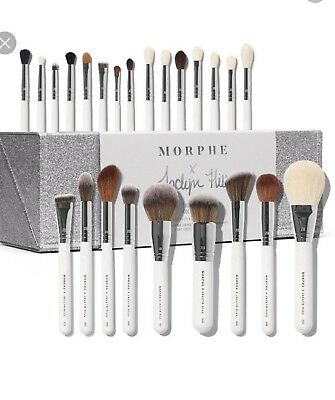MORPHE X JACLYN HILL THE MASTER COLLECTION Makeup Brushes Set NIB🎀