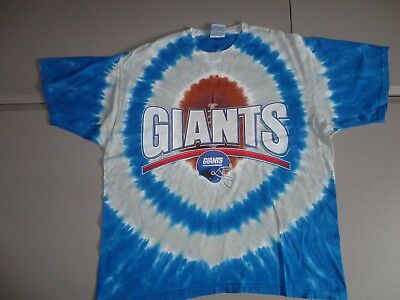 3c8801fc1 RARE Vintage Liquid Blue New York Giants NFL Tye Tie Dye Die T-Shirt Adult