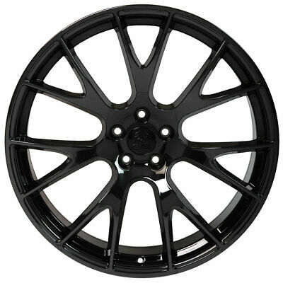 Pvd Black Chrome Wheel 20x9 Tahoe Style For 1999 2017 Chevy