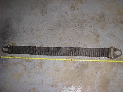 Heavy Duty Metal Mesh Lifting Strap Cambridge Gripper Lift Sling 80 OAL x 6 wide