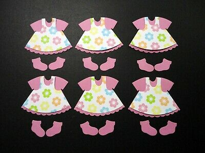 Baby Girl Dress  Die Cut - 6 sets