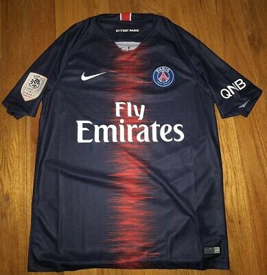 72545ca11 New PSG Nike 2018 Paris Saint-Germain Edinson Cavani Soccer Jersey Men s  Medium