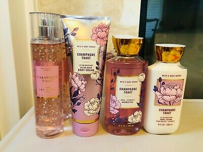 Bath & and Body Works Champagne Toast Body Lotion Body Wash Fragrance Mist Pick1