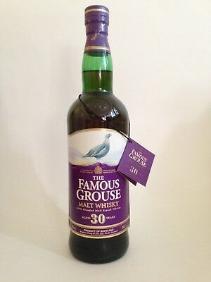 The Famous Grouse 30 Year Old Blended Scotch Whisky (700mL) - BOTTLE ONLY