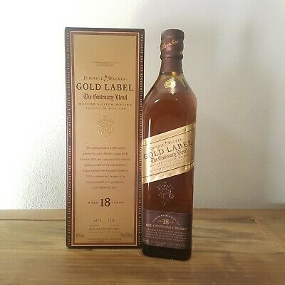 Johnnie Walker Gold Label The Centenary Blend 18 Year Old Series 1