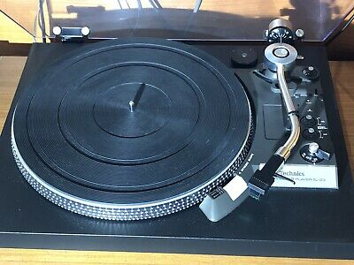 Technics SL-23 Black Turntable 1978 Mint Condition