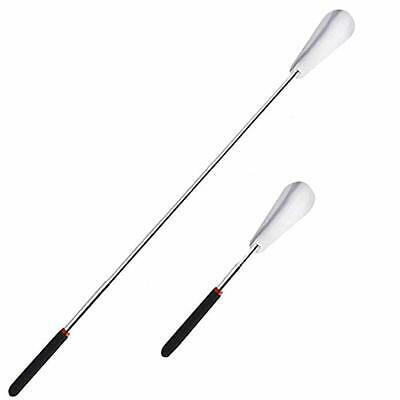 Updated Long Handle Stainless Steel Shoehorn Shoe Horn Spoon Shoe Lifter